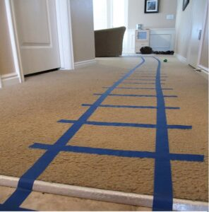 Masking tape racetrack Activity