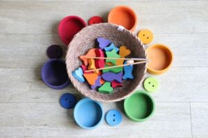 Indoor Activities - Shapes Sorting