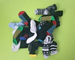 Indoor Activities - Pairing Socks