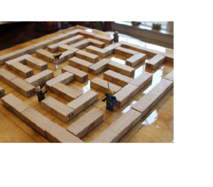 Indoor Activities - Building blocks Maze