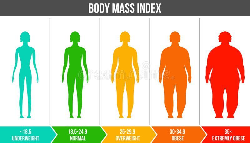 BMI calculation for Women