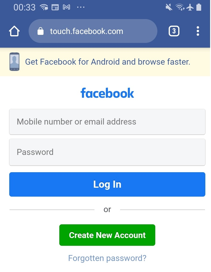 What is Facebook Touch