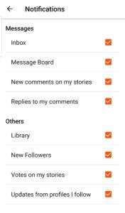 How to Delete Wattpad Account Notifications